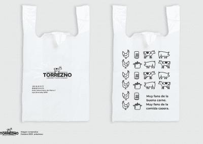 11 Bolsas camiseta Torrexno