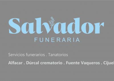 Logo con servicios Funeraria Salvador